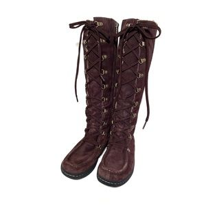 Timberland Suede Knee High Boots